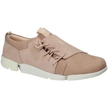 Skor Dam Sneakers Clarks 131761 Rosa