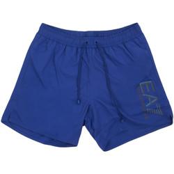 textil Herr Badbyxor och badkläder Ea7 Emporio Armani 902000 0P738 Blå