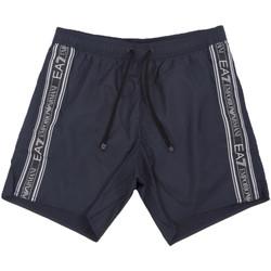 textil Herr Badbyxor och badkläder Ea7 Emporio Armani 902000 0P734 Blå