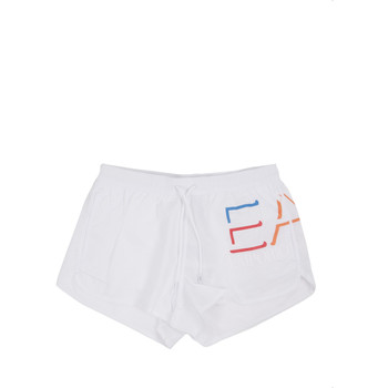 textil Herr Badbyxor och badkläder Ea7 Emporio Armani 902024 0P739 Vit