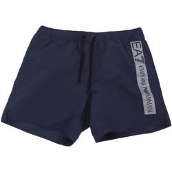 textil Herr Badbyxor och badkläder Ea7 Emporio Armani 902000 0P732 Blå