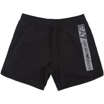textil Herr Badbyxor och badkläder Ea7 Emporio Armani 902000 0P732 Svart