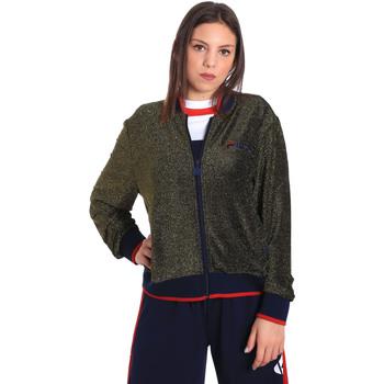textil Dam Sweatshirts Fila 684378 Blå