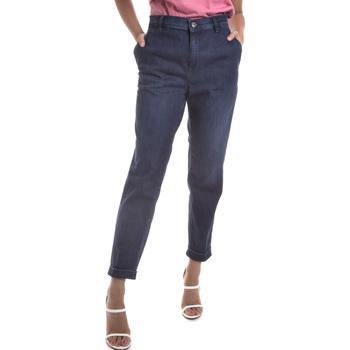 textil Dam Jeans Gas 365786 Blå