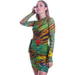 textil Dam Korta klänningar Versace D2HVB495S0782983 Svart