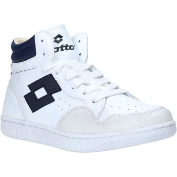 Skor Herr Höga sneakers Lotto L56883 Vit