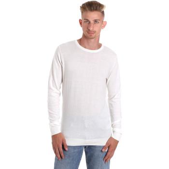 textil Herr Långärmade T-shirts Sseinse ME1504SS Vit