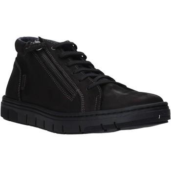 Skor Herr Höga sneakers Grunland PO1717 Svart