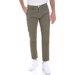 textil Herr Chinos / Carrot jeans Sseinse PSE558SS Grön
