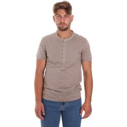 textil Herr T-shirts Antony Morato MMKS01725 FA100139 Brun