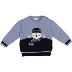 textil Barn Tröjor Melby 20B0100 Blå