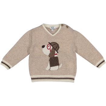 textil Barn Tröjor Melby 20B2130 Beige