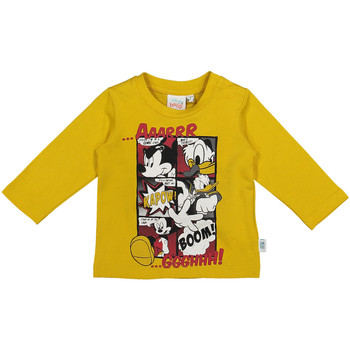 textil Barn Långärmade T-shirts Melby 20C2040DN Gul