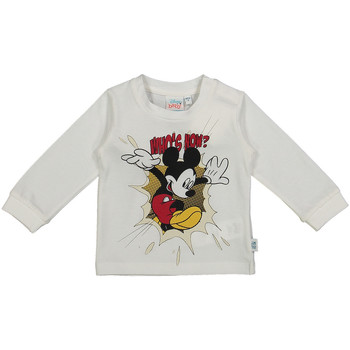 textil Barn Långärmade T-shirts Melby 20C2050DN Vit