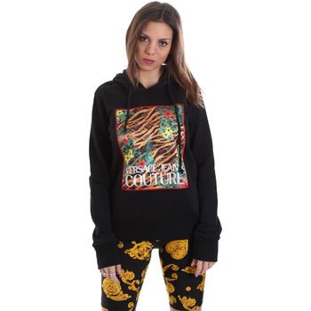 textil Dam Sweatshirts Versace B6HVB70K30328899 Svart