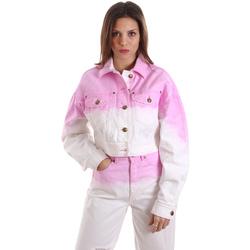 textil Dam Sweatshirts Versace C0HVB96MHRC5C445 Vit