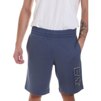 textil Herr Shorts / Bermudas Ea7 Emporio Armani 3HPS73 PJ05Z Blå