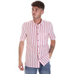 textil Herr Kortärmade skjortor Antony Morato MMSS00154 FA420084 Röd