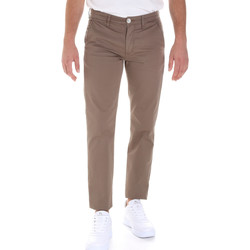 textil Herr Chinos / Carrot jeans Sseinse PSE555SS Brun