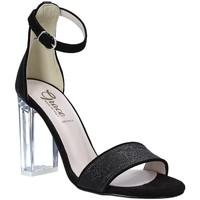 Skor Dam Sandaler Grace Shoes 018TR003 Svart