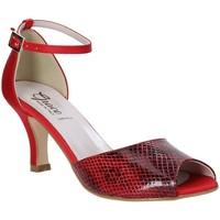 Skor Dam Sandaler Grace Shoes 928008 Röd