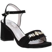 Skor Dam Sandaler Grace Shoes 116V005 Svart