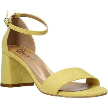 Skor Dam Sandaler Grace Shoes 380008 Gul
