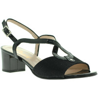 Skor Dam Sandaler Grace Shoes E8127 Svart