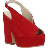 Skor Dam Sandaler Grace Shoes ALBA 107 Röd