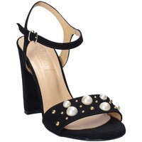 Skor Dam Sandaler Grace Shoes 1396 Svart