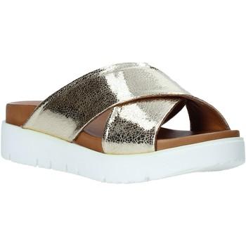 Skor Dam Tofflor Bueno Shoes 9N3408 Guld