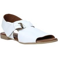 Skor Dam Sandaler Bueno Shoes 9L2700 Vit