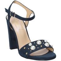 Skor Dam Sandaler Grace Shoes 1396 Blå