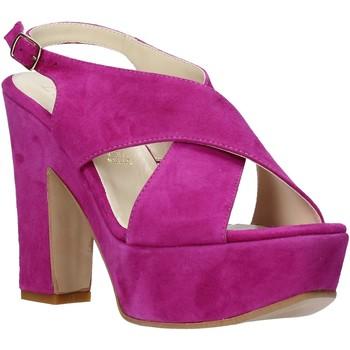 Skor Dam Sandaler Esther Collezioni TQ 039 Rosa