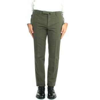 textil Herr Chinos / Carrot jeans Incotex 1W0030 4539Y Green