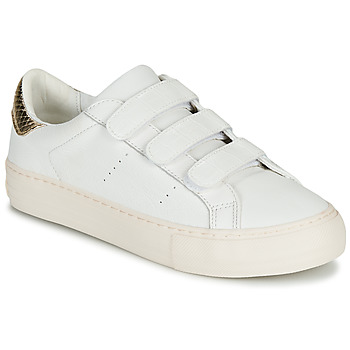 Skor Dam Sneakers No Name ARCADE STRAPS Vit / Beige