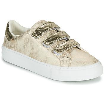 Skor Dam Sneakers No Name ARCADE STRAPS Guldfärgad