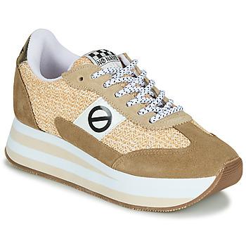 Skor Dam Sneakers No Name FLEX M JOGGER Brun / Beige