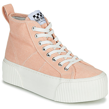 Skor Dam Höga sneakers No Name IRON MID Rosa