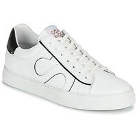 Skor Herr Sneakers Schmoove SPARK MOVE Vit / Svart