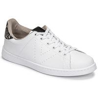 Skor Dam Sneakers Victoria TENIS VEGANA SERPIENTE Vit / Svart