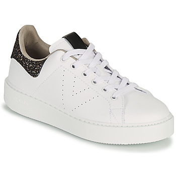 Skor Dam Sneakers Victoria UTOPIA GLITTER Vit / Brun
