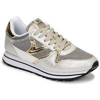 Skor Dam Sneakers Victoria COMETA REJILLA Silver / Guldfärgad