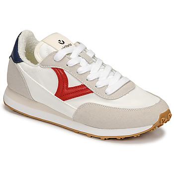 Skor Dam Sneakers Victoria ASTRO NYLON Vit / Röd / Blå