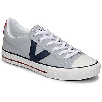 Skor Herr Sneakers Victoria TRIBU LONA CONTRASTE Grå