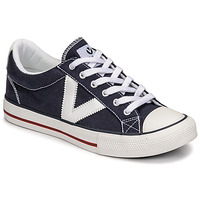 Skor Sneakers Victoria TRIBU LONA CONTRASTE Blå