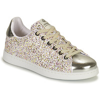 Skor Flickor Sneakers Victoria TENIS GLITTER Silver