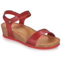 Skor Dam Sandaler Panama Jack CAPRI Röd
