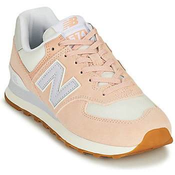 Skor Dam Sneakers New Balance 574 Rosa / Blå