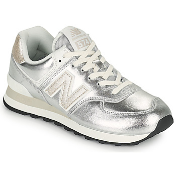 Skor Dam Sneakers New Balance 574 Silver